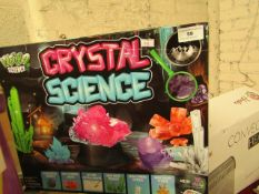 Crystal Science Set. Boxed