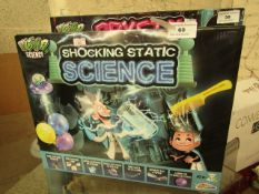 Weird Science Shocking Static Science Set. Boxed