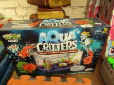 Weird Science Aqua Critters Set. Unused & Boxed