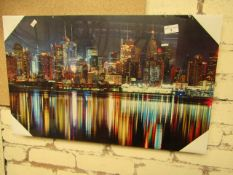 City Canvas. Unused. 65cm x 40cm.