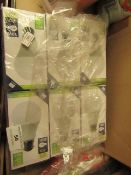 6 x B22 10w LED Bulbs. Unused & Boxed