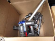 Dyson V7 Animal Cordless Vacuum Cleaner, main unit is tested working in used condition. We have