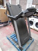 Pro-Form foldable treadmill with built in speakers, Bluetooth and iFit Enabled. Untested. RRP