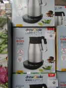 | 4X | DREW AND COLE REDI KETTLE | REFURBISHED AND BOXED | NO ONLINE RESALE | SKU C5060541513587 |