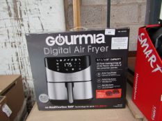 Gourmia Digital Stainless Steel 6 Qt/5.7L Digital Air Fryer with RadiVection 360° heating, tested