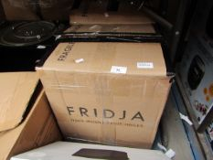 2x Fridja F1900 whole fruit juicer, both untested due to no lid attachment. Both box. RRP Each £