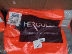 Hercules - Hi-Viz work jacket - Size 3XL - New & Packaged.