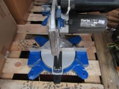 Clarke - Mitre Saw (210mm Blade) - Untested Due to Broken Cable - No Box. This lot is a Machine Mart