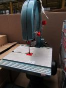 Clarke - Band Saw - Untested & Unchecked. This lot is a Machine Mart product which is raw and