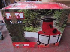 MTD - SL2800 Electric Shredder - Untested & Boxed.