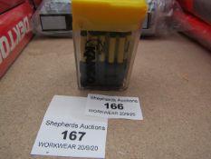 A Tic Tac Box of 10 Kango T20 torq driver bits - New.