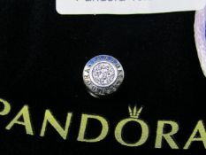 Pandora Charm in branded felt bag, new, please see picture for style.