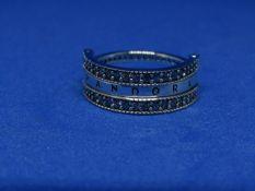 Pandora Flip Ring size 50, new with presentation bag