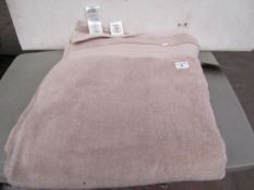 Charisma Luxury Taupe Bath Sheet. New with Tags