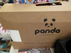 Panda Memory Foam Pillow. Boxed but unchecked