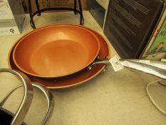 2 x Gotham Frying pans. These have been used