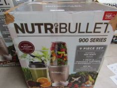 | 2X | NUTRI BULLET 900 SERIES | UNCHECKED AND BOXED | NO ONLINE RESALE | SKU C5060191467353 |