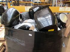 | 1X | PALLET OF APPROX 30-40 VARIOUS SIZED POWER FRYERS, AND PRESSURE KING PROS, ALL RAW CUSTOMER
