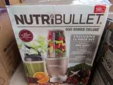 | 2X | NUTRIBULLET 900 SERIES DELUXE | UNCHECKED AND BOXED | NO ONLINE RE-SALE | SKU - | RRP £89.