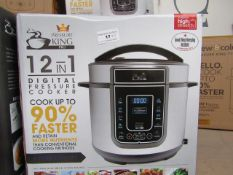| 3X | PRESSURE KING PRO 12 IN 1 5LTR PRESSURE COOKER | UNCHECKED AND BOXED SOME MAY BE IN NON