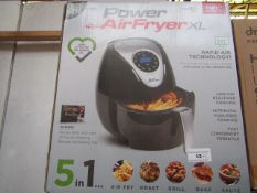 | 2X | POWER AIR FRYER XL 3.2LTR| UNCHECKED AND BOXED SOME MAY BE IN NON PICTURE BROWN BOXES| NO