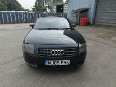 2005 Audi 1.8i Convertible roadster, 131,608 Miles (unchecked) MOT until 01/06/2021, Has part