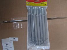 5x Fischer - Frame Fixing 10 x 140 (Pack of 12) - New & Packaged.