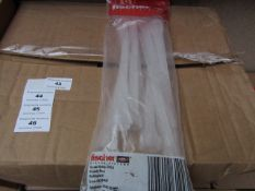 5x Fischer - Static Mixers - (Packs of 10) - New & Packaged.