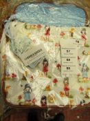 Santoro Gorjuss - Coated Pattern Print Toadstool Bag - New & Packaged.