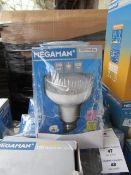 3x Megaman LED R80 bulb, new and boxed. 15,000Hrs / E27 / 520 Lumens