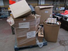 | 1X | PALLET PLUS A BOX OF UNMANIFESTED ELECTRICAL ITEMS, ALL RAW CUSTOMER RETURNS SOME MAY BE