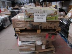 | 1X | PALLET OFAPPROX 13X UNMANIFESTED HOME FITNESS EQUIPMENT, ALL RAW CUSTOMER RETURNS SOME MAY BE