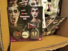 10 x various Smiffys Vampire Make-up Kits new & packaged see image