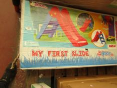"""Dolu Toy Factory """"My First Slide"""" In/Out Door Use boxed unchecked"""
