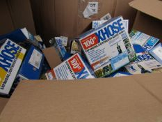 | 1X | PALLET OF APPROX 60 - 70 VARIOUS XHOSES | ALL ITEMS UNCHECKED SOME BOXED MOSTLY LOOSE IN