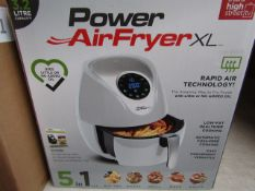 | 2X | POWER AIR FRYER XL 3.2 LTR| UNCHECKED AND BOXED SOME MAY BE IN NON PICTURE BROWN BOXES| NO