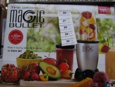 | 5X | THE ORIGINAL MAGIC BULLET BLENDER | UNCHECKED AND BOXED | NO ONLINE RESALE | SKU
