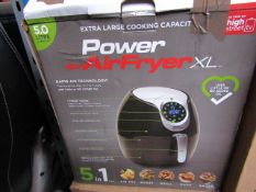 | 4X | POWER AIR FRYER XL 5LTR | UNCHECKED AND BOXED SOME MAY BE IN NON PICTURE BROWN BOXES| NO