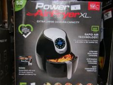 | 5X | POWER AIR FRYER XL 5LTR| UNCHECKED AND BOXED SOME MAY BE IN NON PICTURE BROWN BOXES| NO