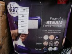 | 4X | VERTI STEAM IRONING SYSTEM | ALL CUSTOMER RETURNS | UNCHECKED AND BOXED | NO ONLINE