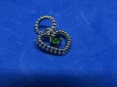 Pandora Birthstone necklace pendant, new with presentation bag.