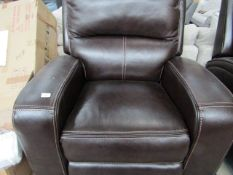 Costco power reclining armchair, TESTED WORKING and no major damage.