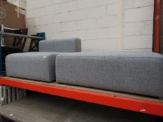 | 1X | HAY MAGS SOFT SECTIONAL CHAIR WITH MATCHING FOOTSTOOL PIECE | RRP TOTALLED AT £1000| LOOKS