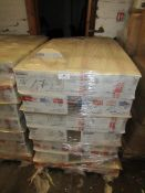 A Pallet of 432x 750ml tins of Glamour effect Gloss Paint, new, the tins have Foreign writing on
