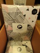 1 x Sanctuary Bailey Multi Superking Duvet Set. New & Packaged. see image for design