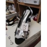 Zaif by Shalamar Shoes Ladies Black & Embellished Shoes size 7 new & boxed see image for design