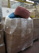 | 1x | PALLET OF MADE.COM SOFT FURNISHING WHICH APPEARS TO INCLUDE BEAN BAGS, FOOT STOOLS AND
