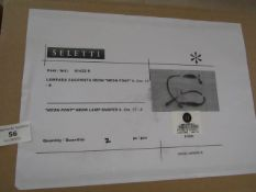 | 1x | SELETTI NEON LETTER S | UNCHECKED AND BOXED | RRP £50 |