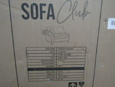 | 1X |SOFA CLUB WINDSONR 4 SEATER SOFA, COMES IN 2 BOXES | LOOKS UNUSED BUT IS BOXED AND UNCHECKED |