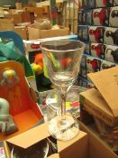 Box of 6 sherry Glasses - Boxed.